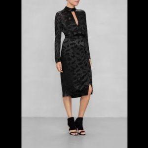 &Other Stories Pattern Key Hole Dress